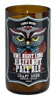 """5"""" Hazelnut Pale Ale Craft Beer Scented Candle"""