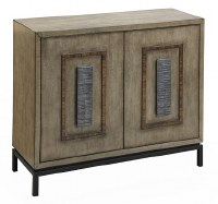 """40"""" Burnished Driftwood Two Door Cabinet"""