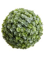 "5.5"" Faux Green Sedum Orb"