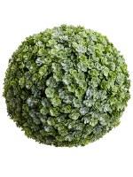 "8"" Faux Green Sedum Orb"