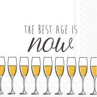 "5"" Best Age Cocktail Napkins"