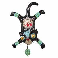 "16"" Black Craft Attack Clock"