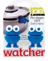 """2"""" Set of 2 Blue Pot Watchers"""