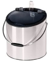 4 qt. Stainless Steel Ice Bucket With Scoop