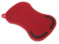 Red 3 in 1 Stay Clean Scrubber