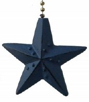 "2"" Navy Star Fan Pull"