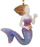 "3"" Seaside Mermaid Fan Pull"