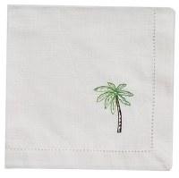 "20"" Square Embroidered Palm Cloth Napkin"
