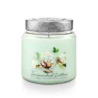 15 oz Sunwashed Cotton Jar Candle