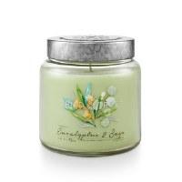 15 oz Eucalyptus Sage Jar Candle
