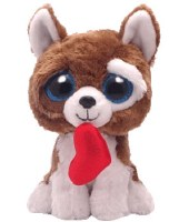 "6"" Smootches Valentine Dog Beanie Boos Plush Toy"