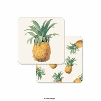 "Pack of 10 4"" Pineapple Coasters"