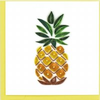 """6x6"""" Quilling Pineapple Greeting Card"""