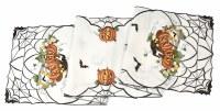 """68.5"""" White Halloween Table Runner"""