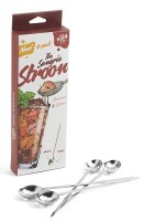 """8"""" Set of 4 Stainless Steel Stroons"""