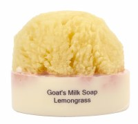 Lemongrass Soap With a Sponge
