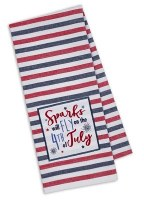"""28"""" x 18"""" Sparks Fly Kitchen Towel"""