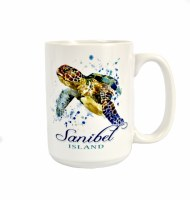 15 oz Sanibel Loggerhead Mug
