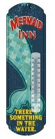 "18"" Metal Mermaid Thermometer"