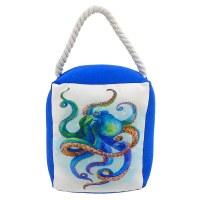 """6"""" Blue Octopus Door Stop"""