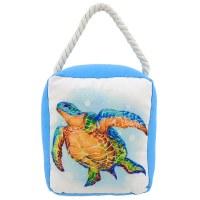 """6"""" Blue Turtle Door Stop"""