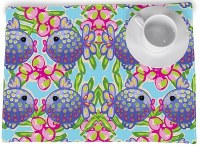 "14"" x 20"" Blowfish Placemat"