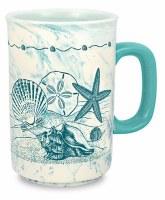 18 Oz Torquoise Turtle Mug