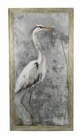 "50.5"" x 26.5"" White Heron Gray 1 Gel"