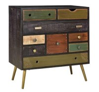 "29"" Multicolor Drawer Chest"
