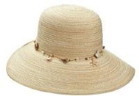 """15"""" Natural Shell Band Hat"""