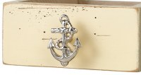 """3"""" Silver Anchor Drawer Pull"""