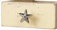 "2"" Silver Starfish Drawer Pull"