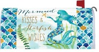 "7"" x 19"" Mermaid Kisses Mailbox Cover"