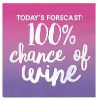 "5"" Square Purple Wine Forecast Paper Beverage Napkins"
