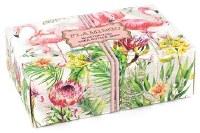 4.5 oz. Small Flamingo Box Soap Bar