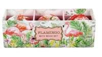 5.3 oz. Box of 3 Flamingo Bath Bombs