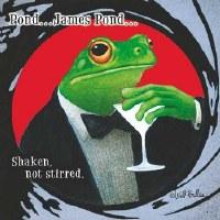 """5"""" Square James Pond Paper Beverage Napkins"""