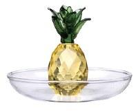 """3"""" Glass Pineapple Ring Holder"""
