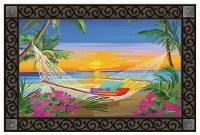 """18"""" x 30"""" Beach Sunset Doormat"""