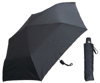 "42"" Black Mini Umbrella"