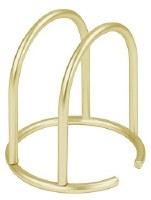 "6"" Gold Arched Euro Napkin Holder"