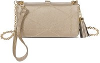 """5"""" x 7"""" Gold Allure Touch Screen Wristlet"""