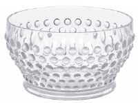 26 oz Clear Plastic Bubble Bowl