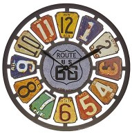 "24"" Route 66 Wall Clock"