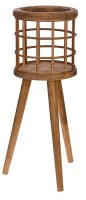 """20"""" Wood Plant Stand"""