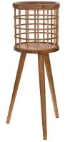 """27"""" Wood Plant Stand"""