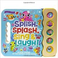 Splish, Splash, Sing and Laugh Interactive Children's Book