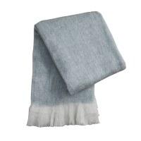 "50"" x 60"" Mist Blue Zara Throw"
