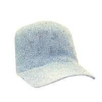 Light Blue Woven Sequin Cap