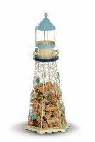 "18"" Lighthouse Wine Cork Caddy"